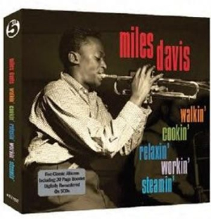Miles Davis - Walkin' Cookin' Relaxin' Workin' & i gruppen CD / Jazz/Blues hos Bengans Skivbutik AB (1019998)