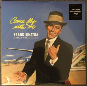 Frank Sinatra - Come Fly With Me i gruppen VINYL / Jazz/Blues hos Bengans Skivbutik AB (1023498)