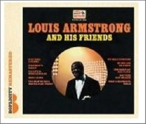 Armstrong Louis - Louis Armstrong And His Friends i gruppen Julspecial19 hos Bengans Skivbutik AB (1027299)