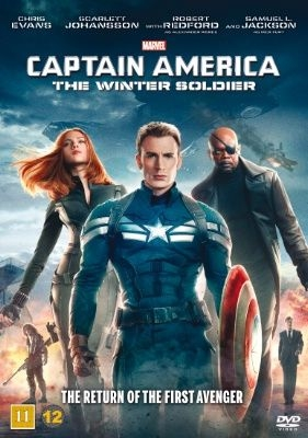 Captain America - The Winter Soldier i gruppen ÖVRIGT / Film Disney Star Wars Marvel hos Bengans Skivbutik AB (1039344)