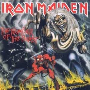 Iron Maiden - The Number Of The Beast i gruppen Kampanjer / Klassiska Hardrock Album hos Bengans Skivbutik AB (1088507)