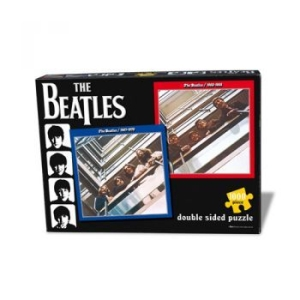 The beatles - Red & Blue Double Puzze i gruppen Julspecial19 hos Bengans Skivbutik AB (1166903)