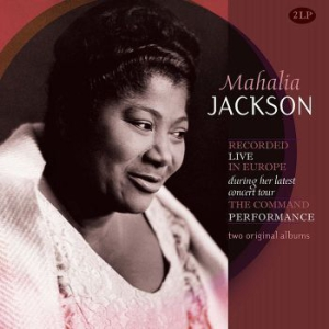 Mahalia Jackson - Recorded Live In Europe During Her i gruppen VINYL / Jazz/Blues hos Bengans Skivbutik AB (1335683)