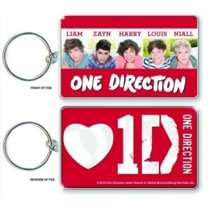 One Direction - Double sided photo print keychain i gruppen ÖVRIGT / Merch Nyckelringar hos Bengans Skivbutik AB (1533593)