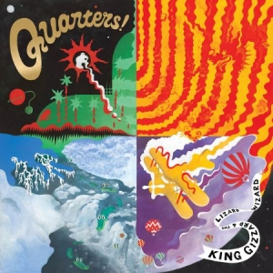 King Gizzard & The Lizard Wizard - Quarters i gruppen Kampanjer / BlackFriday2020 hos Bengans Skivbutik AB (1565517)