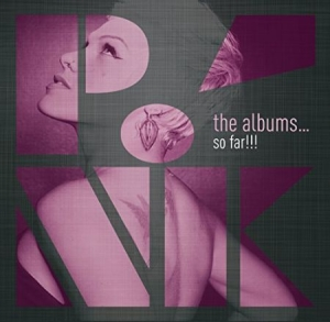 P!Nk - The Albums...So Far!!! i gruppen Minishops / P!nk hos Bengans Skivbutik AB (1708731)