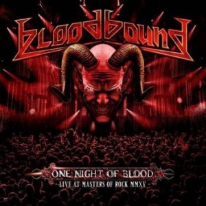 Bloodbound - One Night Of Blood (Dvd / Cd) i gruppen ÖVRIGT / Musik-DVD & Bluray hos Bengans Skivbutik AB (1802342)