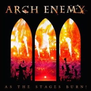 Arch Enemy - As The Stages Burn! i gruppen Minishops / Arch Enemy hos Bengans Skivbutik AB (2290840)