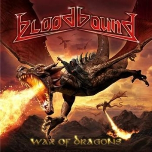 Bloodbound - War Of Dragons i gruppen CD / Hårdrock/ Heavy metal hos Bengans Skivbutik AB (2300686)