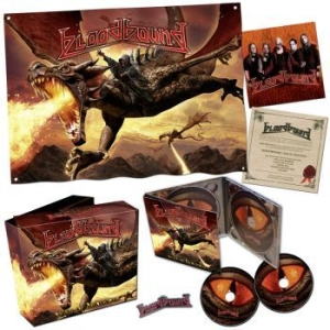 Bloodbound - War Of Dragons (Ltd Fan Boxset) i gruppen CD / Hårdrock/ Heavy metal hos Bengans Skivbutik AB (2300687)