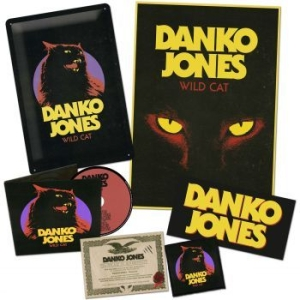 Danko Jones - Wild Cat (Ltd Fan Boxset) i gruppen CD / Hårdrock/ Heavy metal hos Bengans Skivbutik AB (2300689)