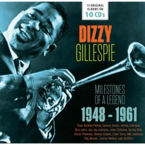 Dizzy Gillespie - Milestones Of A Legend i gruppen CD / Jazz/Blues hos Bengans Skivbutik AB (2407984)