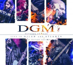 Dgm - Passing Stages - Live In Milan And i gruppen MUSIK / Musik Blu-Ray / Rock hos Bengans Skivbutik AB (2430122)
