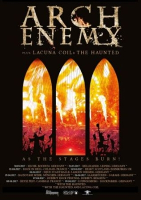Arch Enemy - As The Stages Burn! i gruppen MUSIK / Musik Blu-Ray / Hårdrock/ Heavy metal hos Bengans Skivbutik AB (2462792)