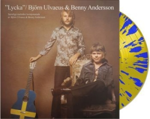 Ulvaeus Björn/Andersson Benny - Lycka (Ltd Blue & Yellow  Vinyl) in the group VINYL / Pop at Bengans Skivbutik AB (2510352)