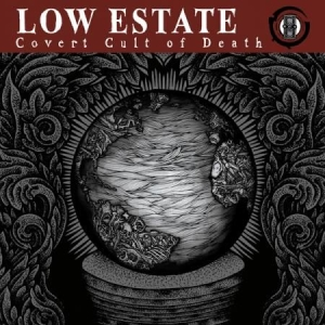 Low Estate - Covert Cult Of Death i gruppen VINYL / Rock hos Bengans Skivbutik AB (2553179)