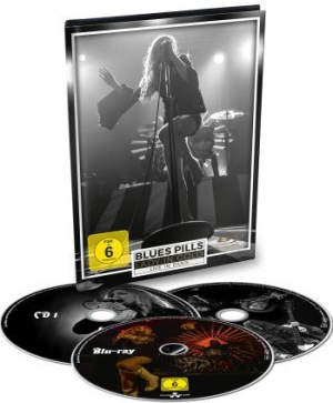 Blues Pills - Lady In Gold - Live In Paris i gruppen MUSIK / Musik Blu-Ray / Rock hos Bengans Skivbutik AB (2618060)