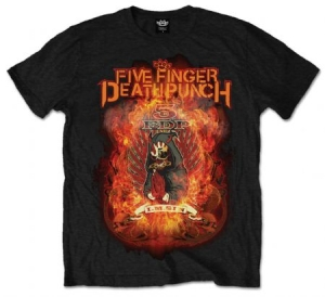 FFDP Burn In Sin Mens Black T-Shirt: X Large - T-shirt XL i gruppen ÖVRIGT / Merch T-shirts hos Bengans Skivbutik AB (2626212)