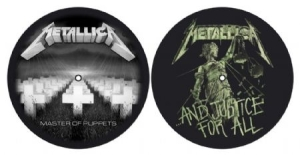 Metallica - Master Of Puppets & ...And Justice For All - Slipmat i gruppen ÖVRIGT / Merch Slipmats hos Bengans Skivbutik AB (2645220)