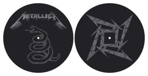 Metallica - The Black Album - Slipmat i gruppen ÖVRIGT / Merch Slipmats hos Bengans Skivbutik AB (2645221)