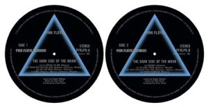 Pink Floyd - Dark Side Of The Moon - Slipmat i gruppen ÖVRIGT / Merch Storsäljare hos Bengans Skivbutik AB (2645229)