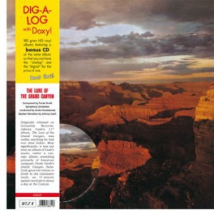 Cash Johnny - Lure Of The Grand Canyon (Lp+Cd) i gruppen VINYL / Country hos Bengans Skivbutik AB (2828065)
