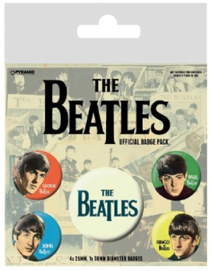 The beatles - The Beatles (Band) Pin Badge Pack i gruppen ÖVRIGT / Merch Badges hos Bengans Skivbutik AB (2988058)