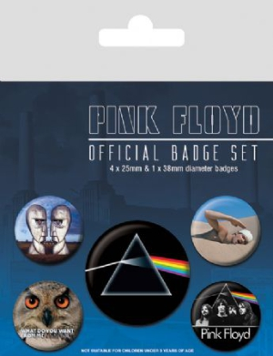 Pink Floyd - Pink Floyd Badge Pack Pin i gruppen ÖVRIGT / Merch Badges hos Bengans Skivbutik AB (2988080)