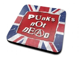 Punk's Not Dead - Punk's Not Dead Single Coaster Drinks Mat i gruppen ÖVRIGT / Merch Storsäljare hos Bengans Skivbutik AB (2988090)