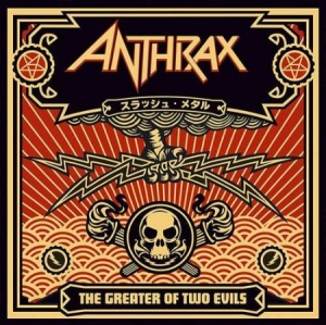 Anthrax - The Greater Of Two Evils ( 2 Lp Bla i gruppen Kampanjer / Sista Exemplaret LP hos Bengans Skivbutik AB (3002045)
