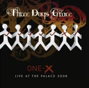Three Days Grace - One-X/Live At The Palace 2Cd Import i gruppen CD / Hårdrock/ Heavy metal hos Bengans Skivbutik AB (3012681)