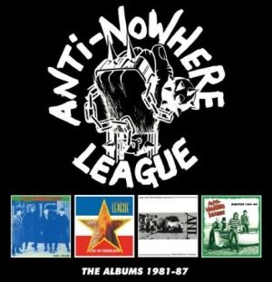Anti-nowhere League - Albums 1981-87 i gruppen CD / Rock hos Bengans Skivbutik AB (3034841)
