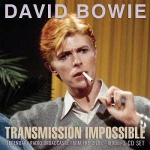 Bowie David - Transmission Impossible (3Cd) i gruppen CD / Rock hos Bengans Skivbutik AB (3045013)