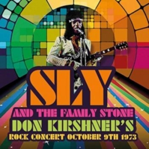 Sly And The Family Stone - Don Kirshner's Rock Concert Oct9 73 i gruppen CD / RNB, Disco & Soul hos Bengans Skivbutik AB (3075191)