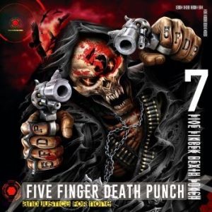 Five Finger Death Punch - And Justice For None (Deluxe Editio i gruppen Minishops / Five Finger Death Punch hos Bengans Skivbutik AB (3126488)