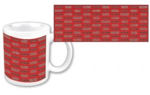 One Direction - Mugg Tiled Names i gruppen Kampanjer / BlackFriday2020 hos Bengans Skivbutik AB (314662)