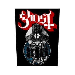 Ghost - Back Patch: Papa Warriors i gruppen ÖVRIGT / Merchandise hos Bengans Skivbutik AB (3174749)