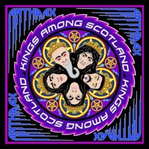Anthrax - Kings Among Scotland ( 2Cd Digipak) i gruppen CD / CD Hårdrock hos Bengans Skivbutik AB (3178608)