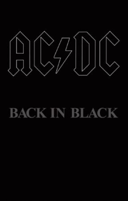 AC/DC - Back In Black i gruppen Kampanjer / Record Store Day Blow out / RSD2018 hos Bengans Skivbutik AB (3214113)