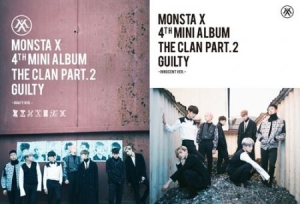 Monsta X - Clan 2.5 Part 2. Guilty i gruppen Kampanjer / K Pop hos Bengans Skivbutik AB (3218752)
