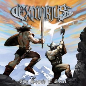Exmortus - The Sound Of Steel i gruppen CD / Hårdrock/ Heavy metal hos Bengans Skivbutik AB (3221738)