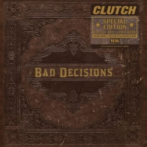 Clutch - Book Of Bad Decisions (Inkl.Bok) i gruppen CD / Hårdrock/ Heavy metal hos Bengans Skivbutik AB (3235941)