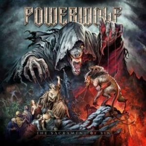 Powerwolf - The Sacrament Of Sin i gruppen CD / Hårdrock/ Heavy metal hos Bengans Skivbutik AB (3255651)