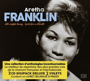 Franklin Aretha - All Night Long & Just For A Thrill i gruppen CD / CD RnB-Hiphop-Soul hos Bengans Skivbutik AB (3322036)