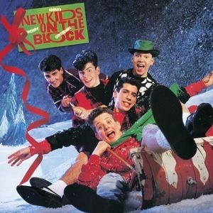 New Kids On The Block - Merry Merry Christmas (Green Vinyl) i gruppen VINYL / Vinyl Julmusik hos Bengans Skivbutik AB (3330080)