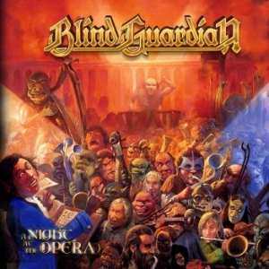 Blind Guardian - A Night At The Opera ( 2Cd Digipack i gruppen CD / CD Hårdrock hos Bengans Skivbutik AB (3338139)