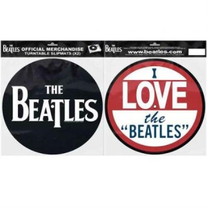 Beatles - Slipmat - Beatles I Love the Beatles i gruppen Kampanjer / BlackFriday2020 hos Bengans Skivbutik AB (3407117)