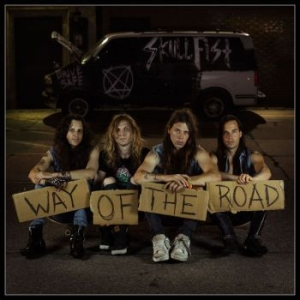 Skull Fist - Way Of The Road i gruppen CD / Hårdrock/ Heavy metal hos Bengans Skivbutik AB (3460587)