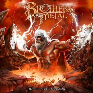 Brothers Of Metal - Prophecy Of Ragnarök i gruppen CD / Hårdrock/ Heavy metal hos Bengans Skivbutik AB (3462921)