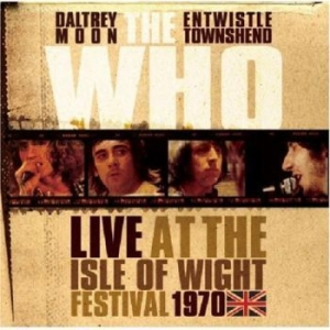 Who The - Live At The Isle Of Wight 1970 i gruppen Julspecial19 hos Bengans Skivbutik AB (3489795)